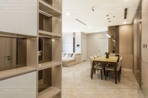 thi công nội thất hiện đại - phòng khách bếp 2