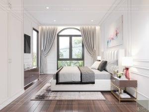 thiết kế biệt thự tân cổ điển phòng ngủ 1