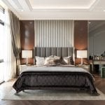 thiết kế biệt thự tân cổ điển phòng ngủ master