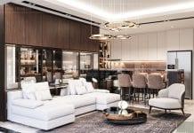 thiết kế nội thất căn hộ millennium