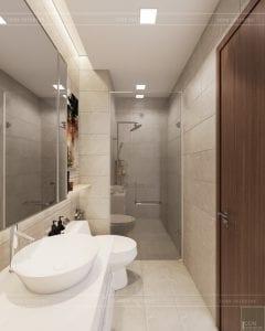 phong cách hiện đại sang trọng phòng vệ sinh