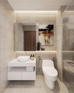 phong cách hiện đại sang trọng - phòng vệ sinh