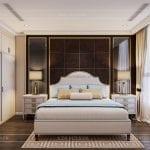 thiết kế nội thất căn hộ landmark 4 - phòng ngủ 2
