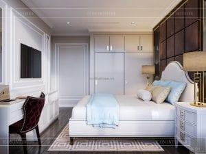 thiết kế nội thất căn hộ landmark 4 - phòng ngủ 3