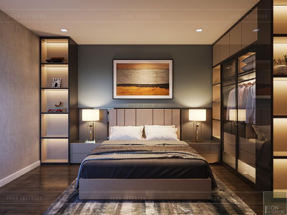 phong cách hiện đại trong thiết kế nội thất - phòng ngủ