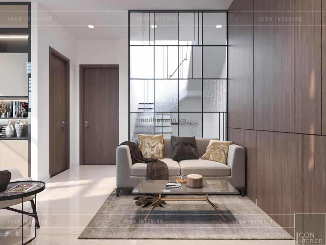 phong cách hiện đại trong thiết kế nội thất - phòng sinh hoạt chung