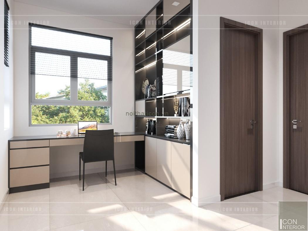 phong cách hiện đại trong thiết kế nội thất - phòng làm việc