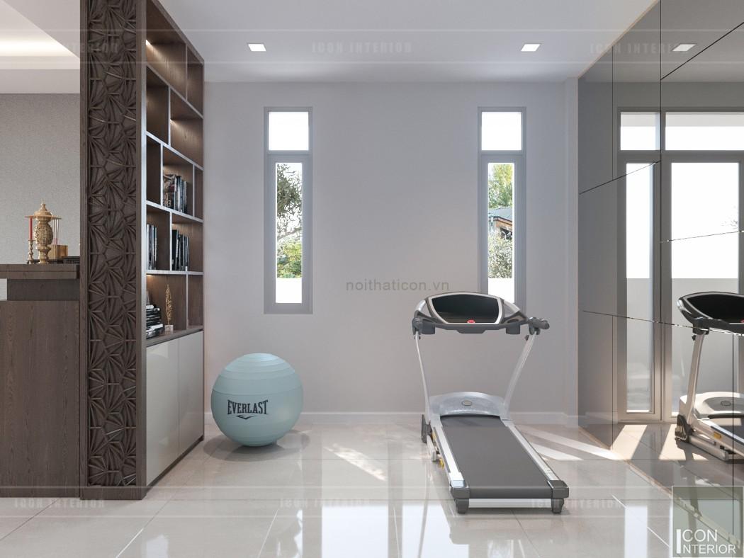 phong cách hiện đại trong thiết kế nội thất yoga