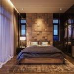phong cách hiện đại trong thiết kế nội thất - phòng ngủ master