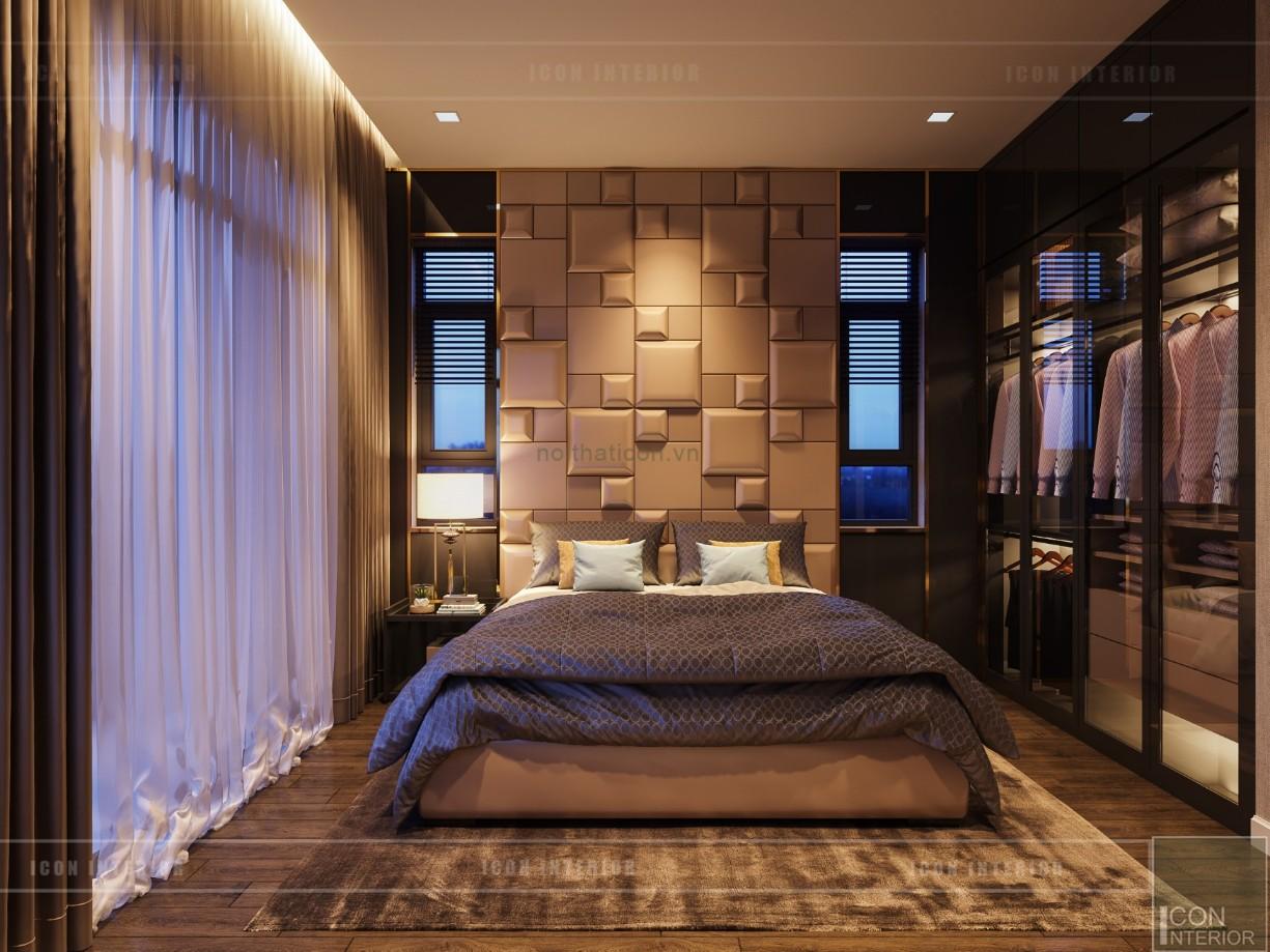 phong cách hiện đại trong thiết kế nội thất phòng ngủ master