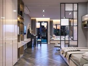 thiết kế nội thất nhà phố - tầng 2