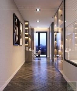 thiết kế nội thất nhà phố - tầng 1
