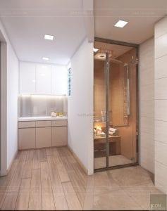 thiết kế nội thất spa hiện đại - phòng vệ sinh 3