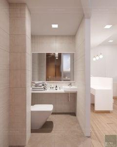 thiết kế nội thất spa hiện đại - phòng vệ sinh 4