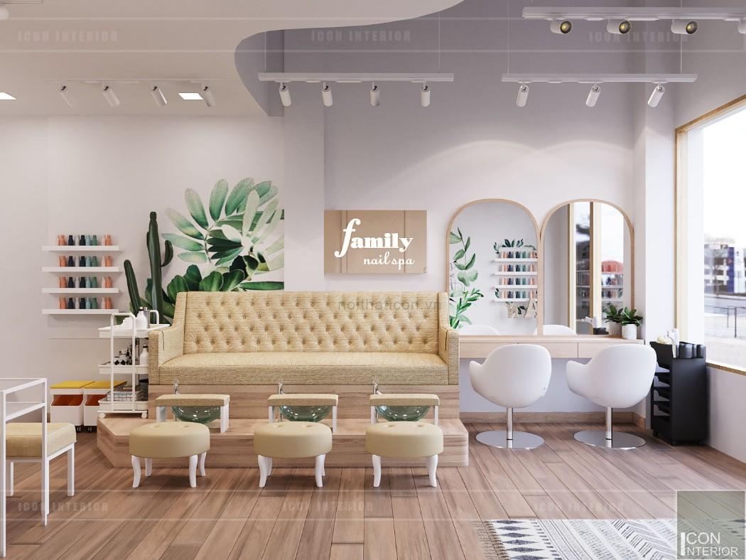 thiết kế nội thất spa hiện đại - phòng spa 3
