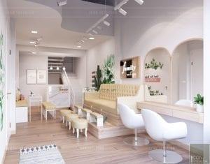 thiết kế nội thất spa hiện đại - phòng spa 4