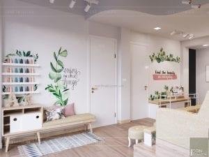 thiết kế nội thất spa hiện đại - phòng spa 5