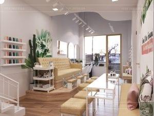 thiết kế nội thất spa hiện đại - phòng spa 2