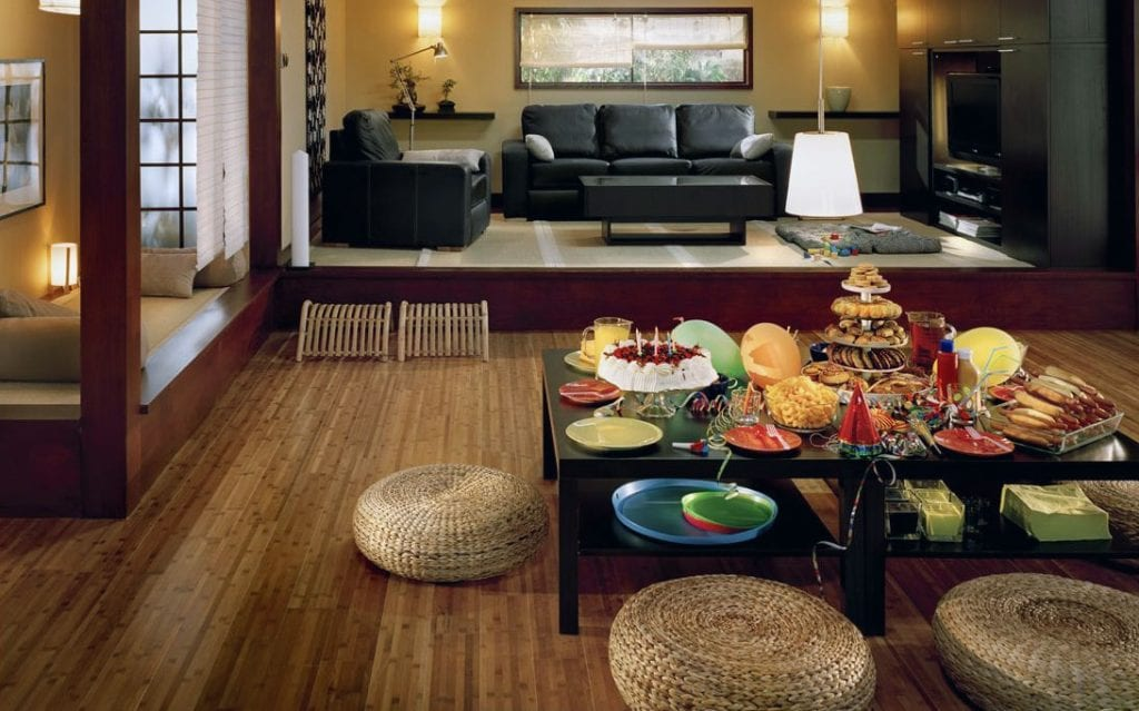 Sàn gỗ phong cách Zen