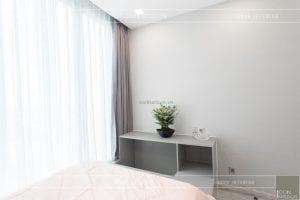thi công nội thất căn hộ 2 phòng ngủ - phòng ngủ nhỏ 3