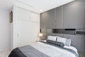 thi công nội thất căn hộ 2 phòng ngủ - phòng ngủ master 4