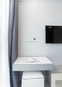 thi công nội thất căn hộ 2 phòng ngủ - phòng ngủ master 9