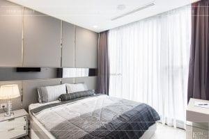 thi công nội thất căn hộ 2 phòng ngủ - phòng ngủ master 2