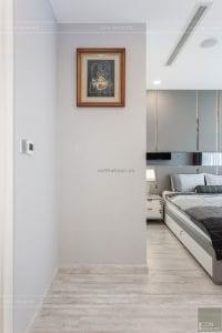thi công nội thất căn hộ 2 phòng ngủ - phòng ngủ master 1
