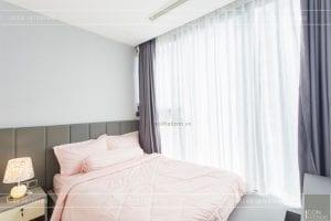 thi công nội thất căn hộ 2 phòng ngủ - phòng ngủ nhỏ 1
