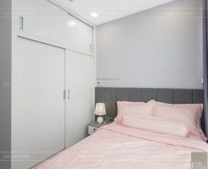 thi công nội thất căn hộ 2 phòng ngủ - phòng ngủ nhỏ 2