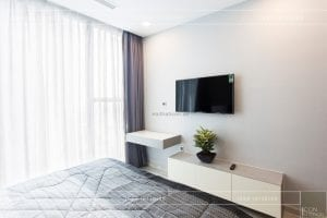 thi công nội thất căn hộ 2 phòng ngủ - phòng ngủ master 6