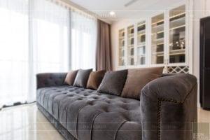 thi công nội thất chung cư tân cổ điển 10