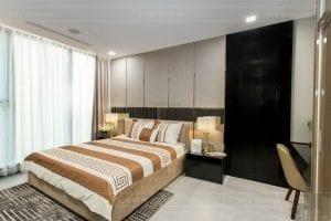 thi công nội thất chung cư hiện đại - phòng khách bếp 19