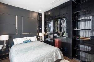 căn hộ 4 phòng ngủ vinhomes central park - thi công phòng ngủ 3