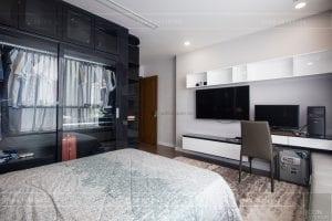 căn hộ 4 phòng ngủ vinhomes central park - thi công phòng ngủ 4
