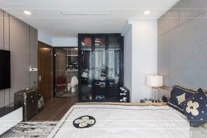 căn hộ 4 phòng ngủ vinhomes central park - thi công phòng ngủ master 4