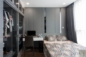căn hộ 4 phòng ngủ vinhomes central park - thi công phòng ngủ 6