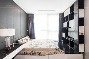 căn hộ 4 phòng ngủ vinhomes central park - thi công phòng ngủ 8