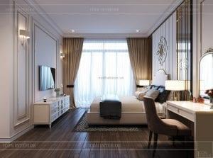 thiết kế biệt thự 2 tầng - phòng ngủ 3