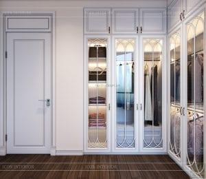 thiết kế biệt thự 2 tầng - phòng ngủ master 1