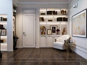 thiết kế biệt thự 2 tầng - phòng thư giãn 3
