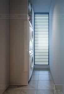 nội thất chung cư 2 phòng ngủ - logia 1