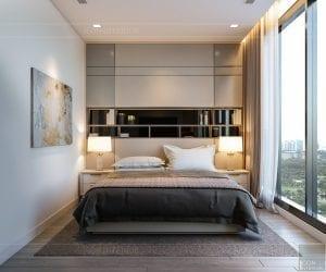nội thất chung cư 2 phòng ngủ - phòng ngủ master 2
