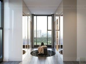 nội thất chung cư 2 phòng ngủ - phòng thay đồ master 1