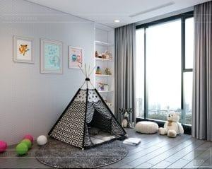 nội thất chung cư 2 phòng ngủ - phòng ngủ bé 1