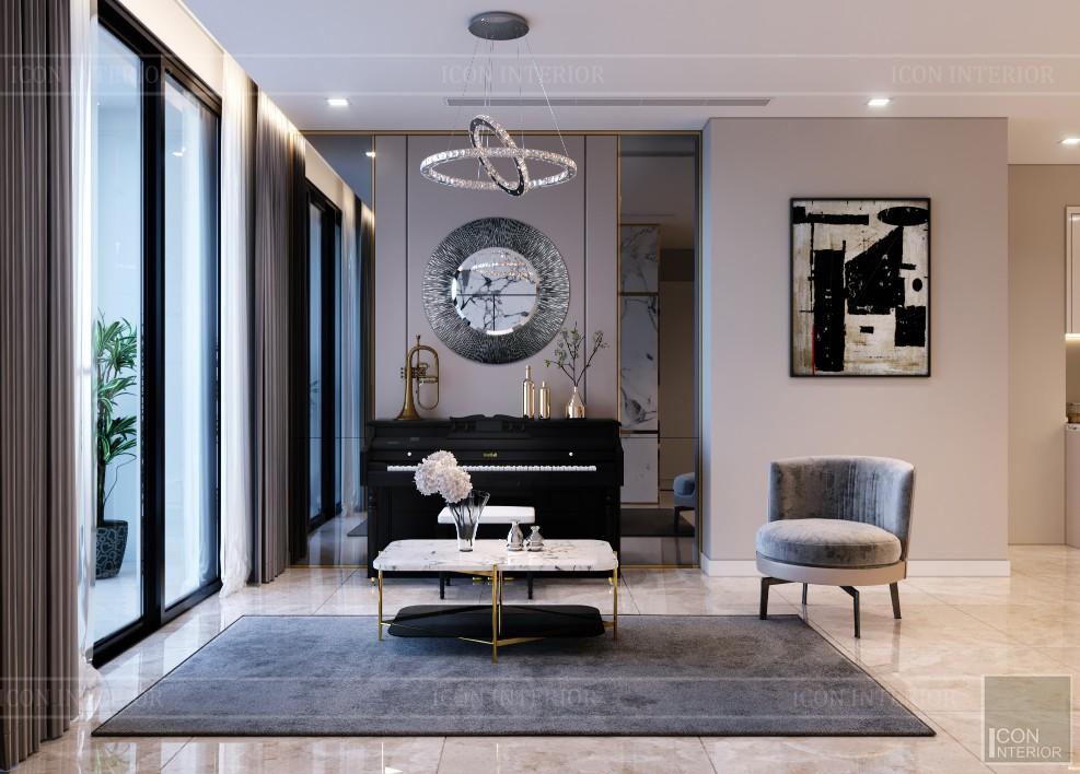 Thiết kế nhà chung cư 70m2 Vinhomes Bason