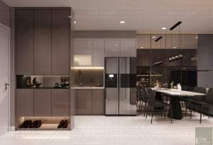 Nội thất căn hộ 60m2 Richstar Residence