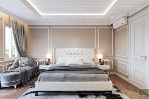thiết kế nội thất phòng ngủ nhà phố phòng ngủ