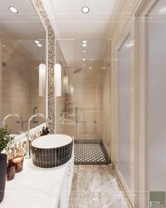 thiết kế nội thất phòng ngủ nhà phố phòng vệ sinh phòng ngủ