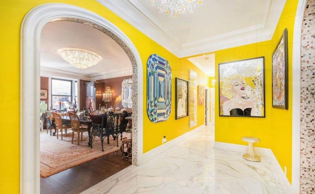 Màu vàng trong thiết kế Địa Trung Hải